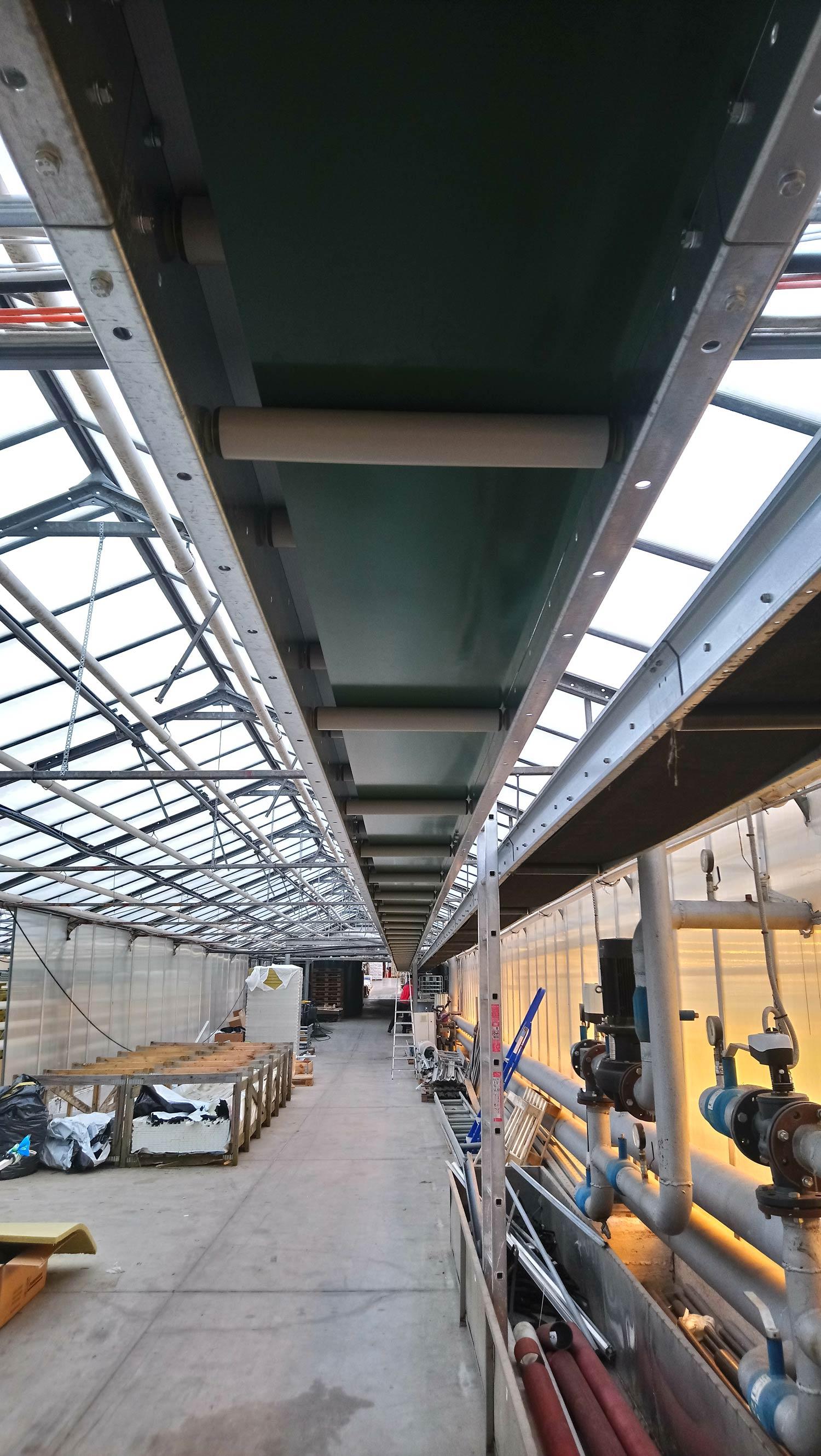 PVC beltconveyor lint konveier