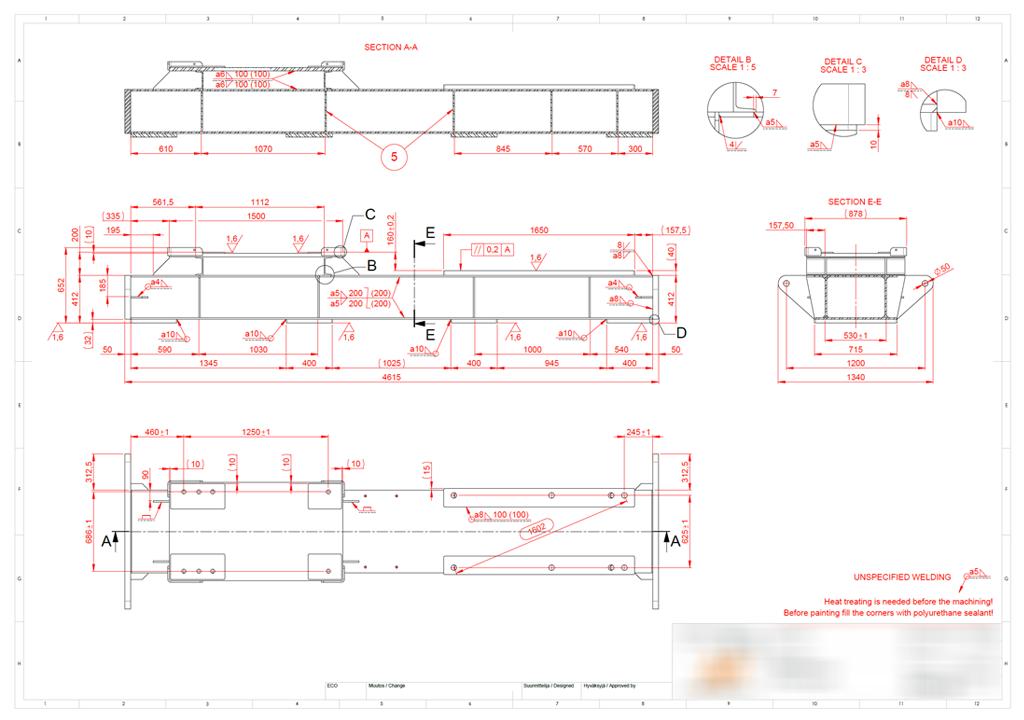 Jooniste vormistamine projekteerimine