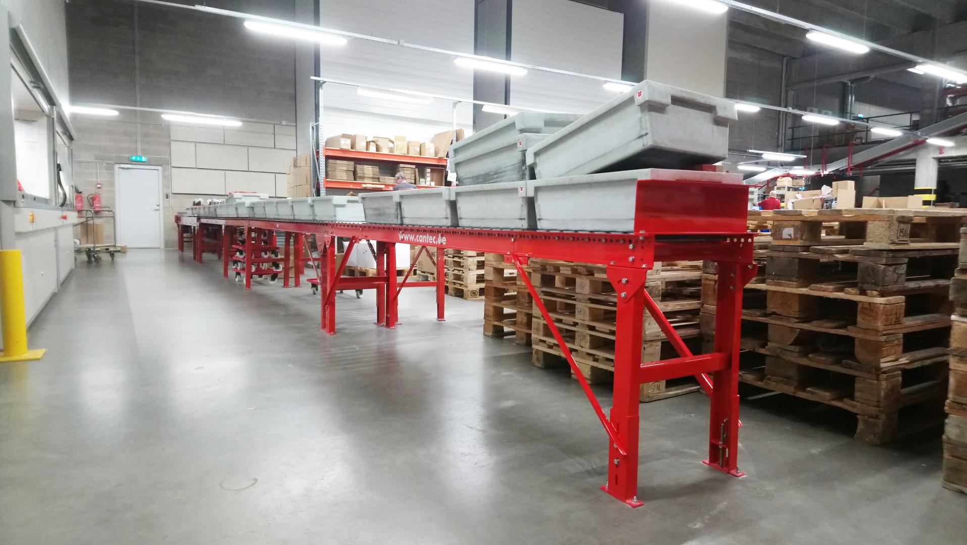 rullkonveier roller conveyor
